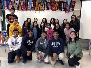 Group of TZHS students