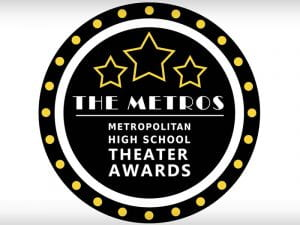 Logo: The Metros - Metropolitan High School Theater Awards