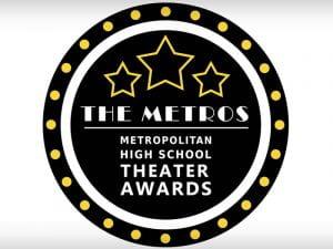 Logo: The Metros - Metropolitan High School Theater Awards