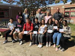 NMS commended students and counselors