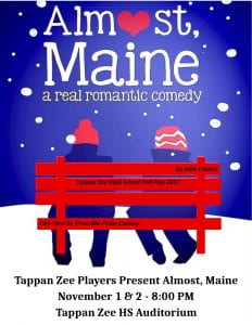 Poster for Almost, Maine play