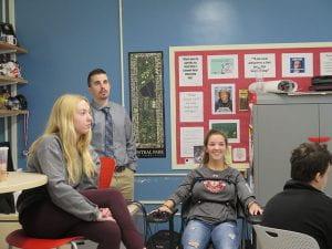 AP Psychology Girl Taking Polygraph Test