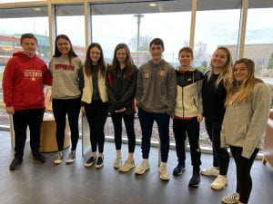 TZHS Students Attend Blood Drive Leadership Summit