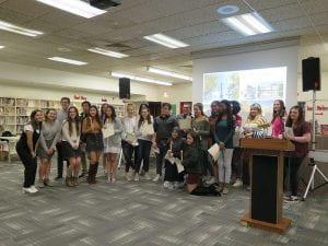 French Honor Society Inducts 20 New Members