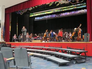 World Language and Music Assembly for Fifth-Graders