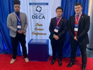 tzhs deca third-place winners at states