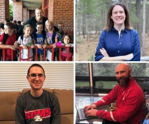Four school principals