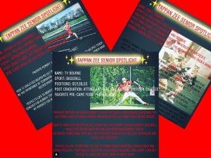 Senior Spotlight post collage