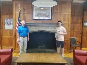 Matt T. with Rockland County YMCA CEO Chuck Maze