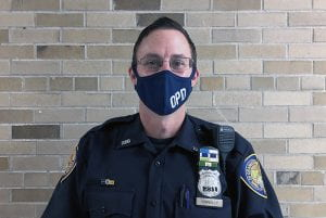 OPD School Resource Officer Chris Connolly