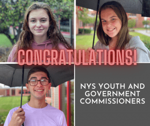 Youth And Government NYS Commissioners