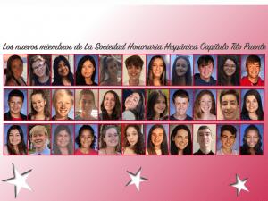 2020 Spanish Honor Society Inductees