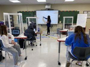 Kristen Duroy teaches a mystery unit