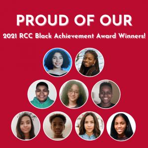 2021 RCC Black Achievement Award Winners