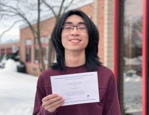 2021 National Merit Finalist Peter Wu