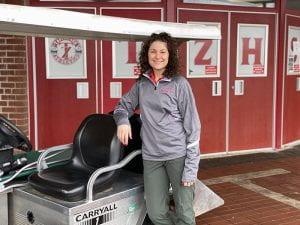 Head Athletic Trainer Jessica Lappe
