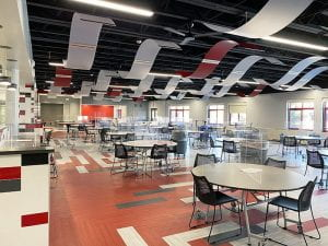 Tappan Zee High School cafeteria commons
