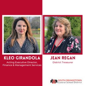Kleo Girandola and Jean Regan