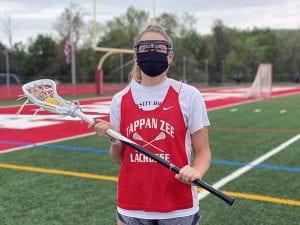 TZ Girls Varsity Lacrosse co-captain Kellie Linehan