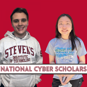 National Cyber Scholars Joseph Gregory and Kayla Ng
