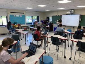 Summer ELA 8 classroom session