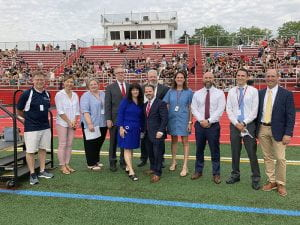Administrators at Opening Day