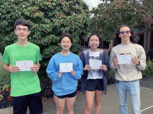 TZHS's 2022 NMS Commended Students