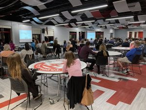 ASI Brian Culot presenting at K-12 Curriculum Night