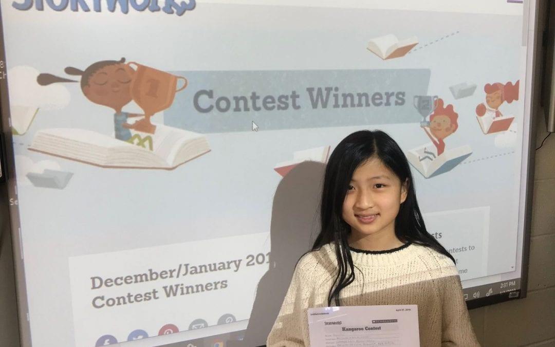 Kayleen is a contest winner!