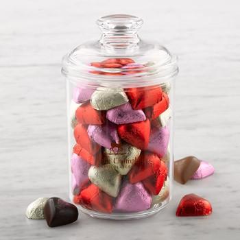 chocolate-hearts-candy-jar