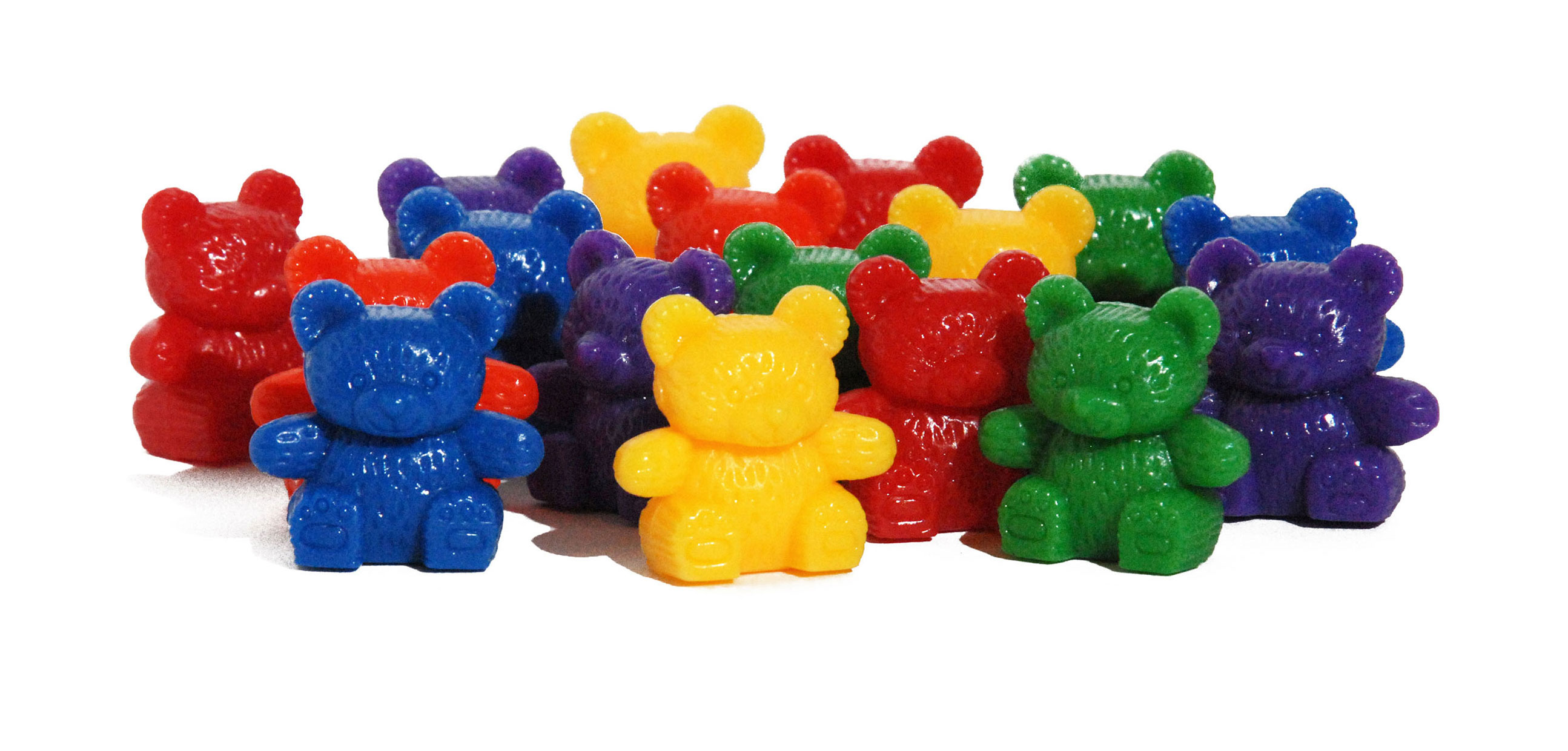 Amazon.com: Learning Resources Baby Bear Counters, 102 Pieces ...