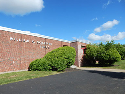 Facade of William O. Schaefer Elementary School