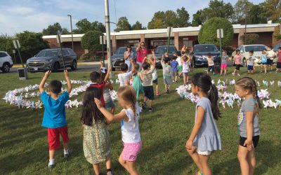 """""""Whirled"""" Peace: Students Take Part in Global Art Project"""