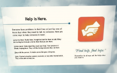 Help Card Campaign Rolls Out Districtwide