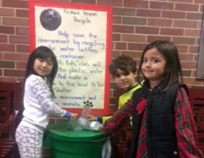 Earth Kids Promote Recycling, Help Hi Tor