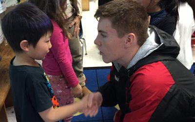 Citizen Leaders, Kindergartners Partner to Promote Compassion