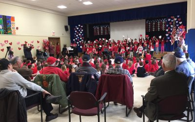 WOS Hosts Valentines for Veterans Celebration