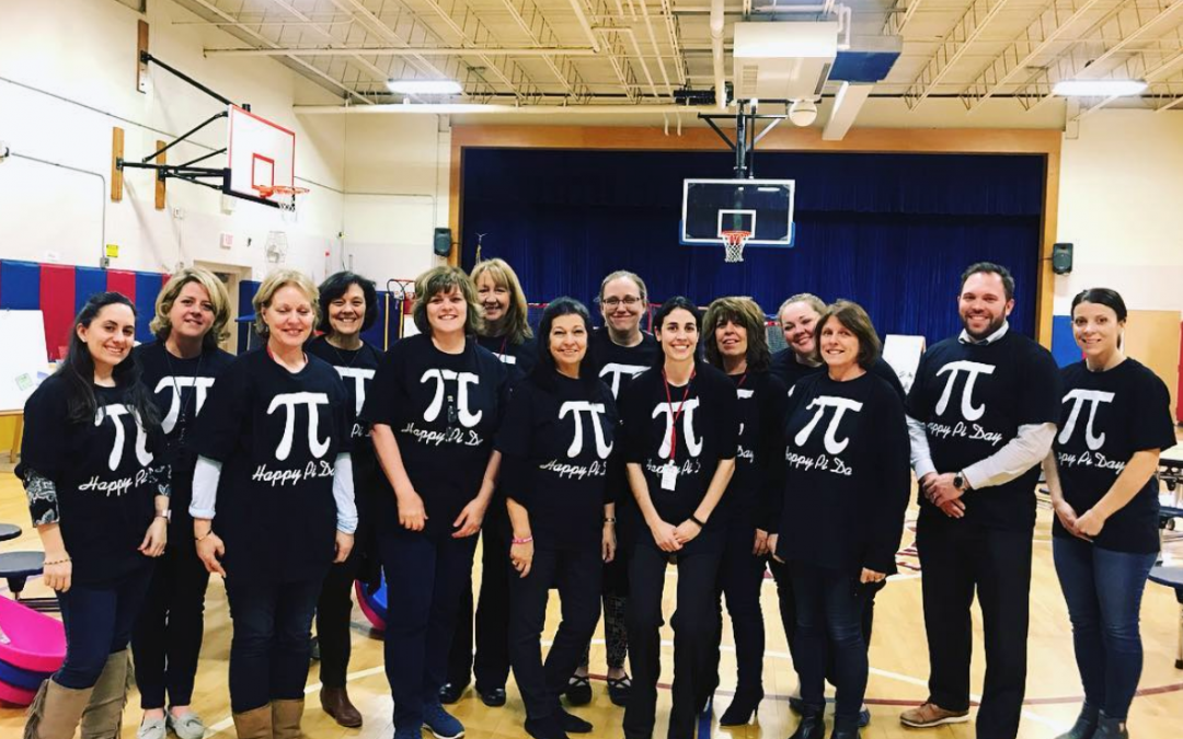 Pi Day + Families = 3rd Annual SOCES Math Night!