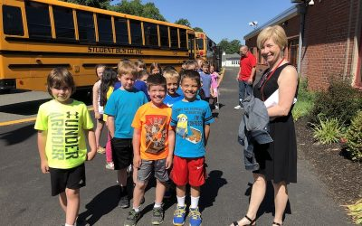 TODAY: Second-Graders Visit CLE!