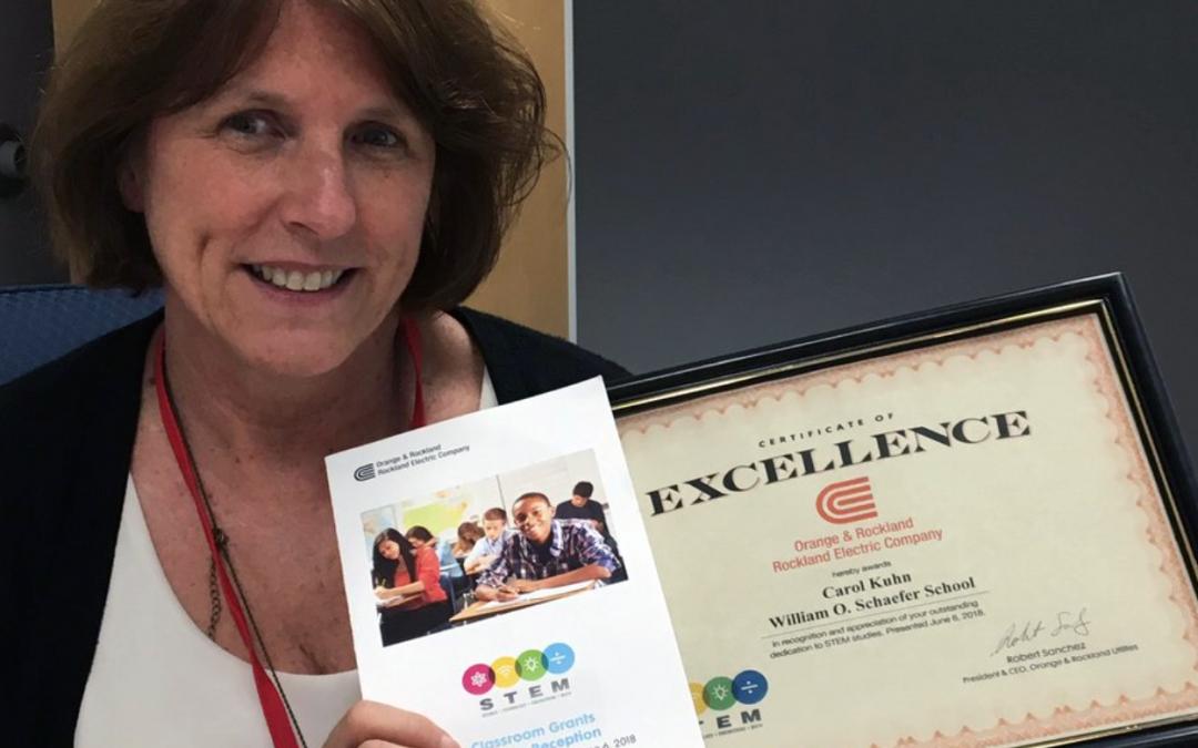 WOS Teacher Wins O&R STEM Classroom Grant