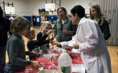 WOS Hosts a STEM-tastic Night For Families