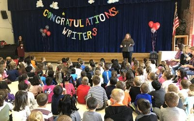 WOS Celebrates First-Grade Writers