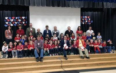 WOS Shows Appreciation Through Valentines for Vets