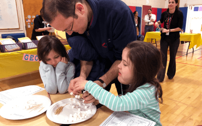 Fourth Annual Family Math Night Draws Crowds