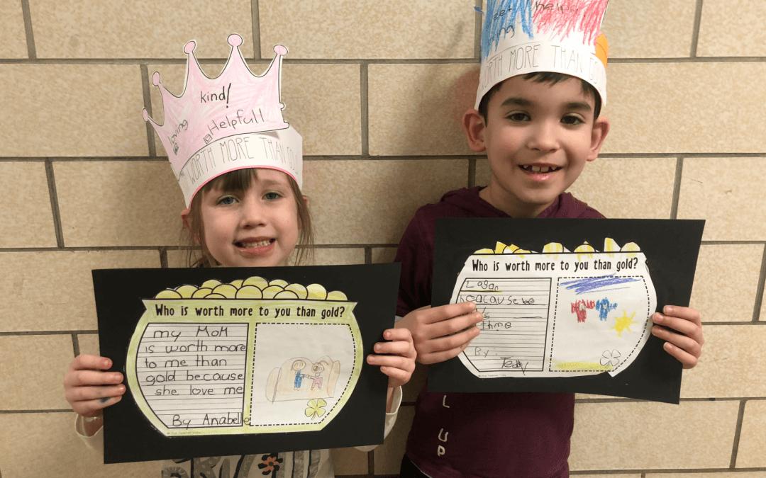 Kindergarten Conversations Build Students' Self-Worth