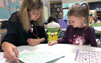 First-Grade Writers Focus on Stamina and Storytelling