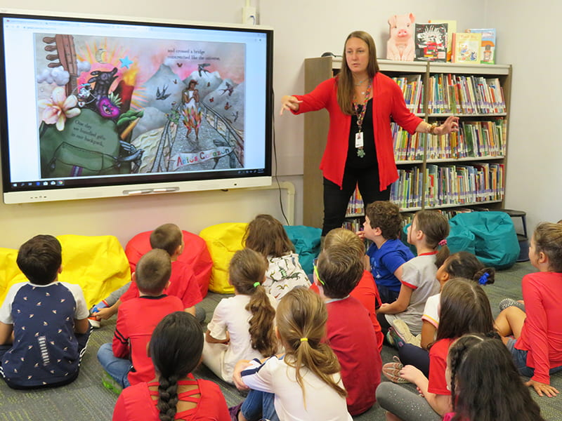 WOS Dives Into Global Read Aloud 2019