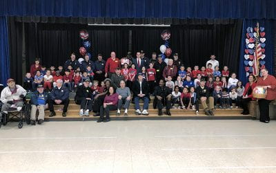 WOS Hosts Valentines for Veterans Event