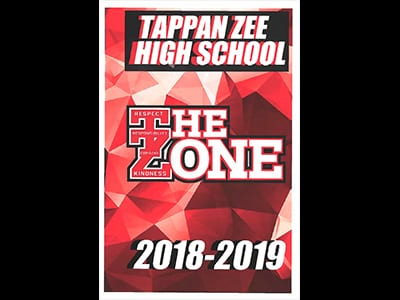 Photo of Tappan Zee High School Student Handbook cover
