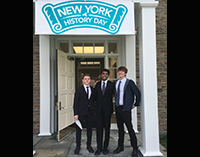 TZHS Team Takes 2nd Place in NYS History Day Contest